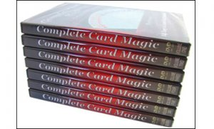Complete Card Magic-7 DVD Set