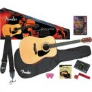 Fender DG-8S Acoustic Guitar Value Pack