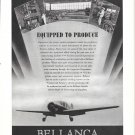 1941 Bellanca Plane Equipped To Produce Ad Factory