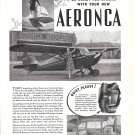 1941 Aeronca Super Chief Plane Ad Be Ready For Spring