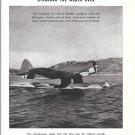 1941 Edo Float Gear Northrop N-3 Patrol Bomber Plane Ad