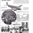 1936 Pan American Airways T0 Mexico Ad