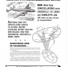 1949 Eastern Air Lines More New Type Constellation Service Ad