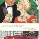 1955 Cadillac Car The Christmas They'll Never Forget Ad