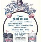 1897 Pillsbury's Best Breakfast Food & Flour American Favorites Ad