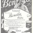 1923 Boncilla Beautifier Do Not Cover Up Facial Blemishes Ad