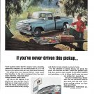 1966 International Pickup Truck Couple Picnic Ad