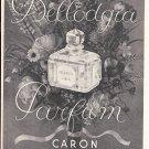 1947 Bellodgia Perfume By Caron Ad