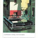 1966 Pontiac Grand Prix Car A Gentleman's Carriage Ad
