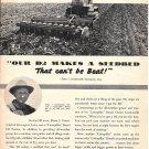 1949 Caterpillar Diesel D2 Tractor Elmer J. Groenwoldt Davenport OH Ad