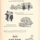 1961 Esso Golden Fiest Petrol You Can Buy Ad Chauffeurs