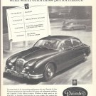 1963 Daimler 2 1/2 Litre Saloon Car Dignity Travels Ad