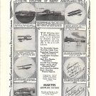 1919 Martin Aeroplane The Evolution Ad 7 Models Ad