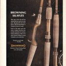 1967 Browning Silaflex Fishing Rods Ad Who Says