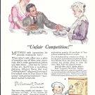 1918 Maud Tousey Fangel Art Teco Pancake Mix Ad