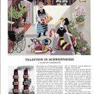 1963 Schweppes Sparkling Water 2. Love Of Gardening Ad