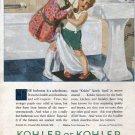 1927 Kohler Plumbing Sister & Brother Ad