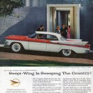 1957 Dodge Custom Royal Lancer 4 Door Car Ad