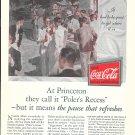 1930 Coca-Cola Soda Princeton Polar Recess Ad