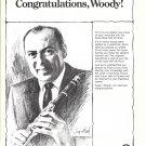 1976 Woody Herman LeBlanc Clarinet & Vito Saxophone Ad
