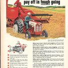 1959 Ford Combines Pay Off In Tough Going Ad
