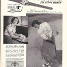 1952 Babe Didrikson Zaharias Greatest Woman Golfer Timex Watch Ad