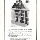 1906 Ivory Soap Couple On Ship Deck Clarence Underwood Art Ad