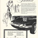 1958 Packard Car Wherever You Go People Know Ad