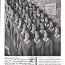 1960 American Airlines Stewardesses College Ad
