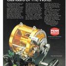 1989 Penn International Fishing Reels Ad Standard Of The World