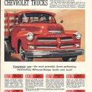 1954 Chevrolet Trucks Completely New Ad