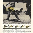 1965 McCulloch Dependable Chain Saws Ad You'll Farm Better