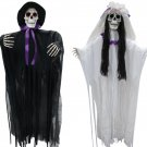 Day of the Dead Bride And Groom Decoration Haunted House  Horror Halloween Prop