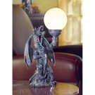 Haunted Castle Dragon Globe Table Lamp