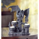 Haunted Castle Dragon Candle Holder Centerpiece