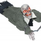 Animated Crawling Grave Ghoul Lights, Motion & sound Haunted House Horror Halloween Prop