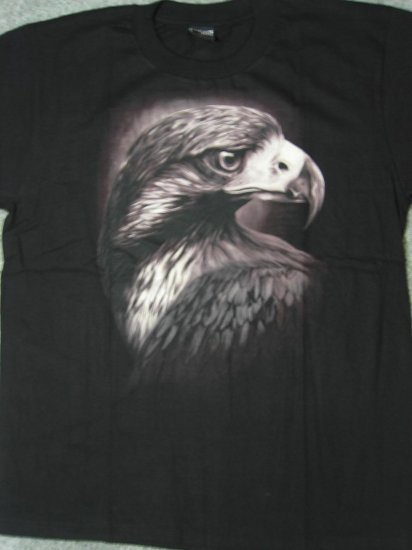 NWT American Bald Eagle Motorcycle / Biker Men T-Shirt size XL