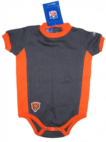 NFL Chicago Bears 6/9M Reebok baby/infant onesie (unisex) FREE SHIPPING!