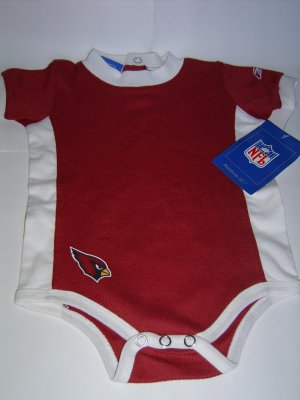 NFL Arizona Cardinals Reebok infant / baby onesie size 24M FREE SHIPPING!
