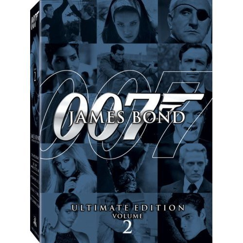 James Bond Ultimate Edition Vol. 2 US Version DVD: Die Another Day, The Spy Who Loved Me...