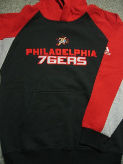 New NBA Philadelphia 76ers Boy Sweatshirts Medium M 10/12 FREE SHIPPING!