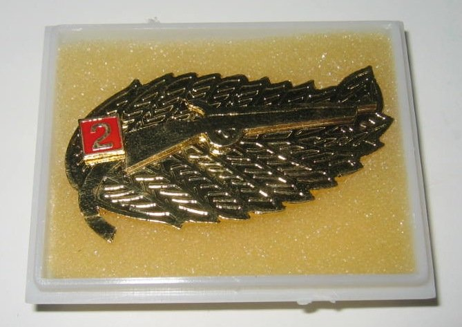 Indonesian Army Sharpshooter 2nd Class Rifle Badge (Indonesian Military) FREE SHIPPING!