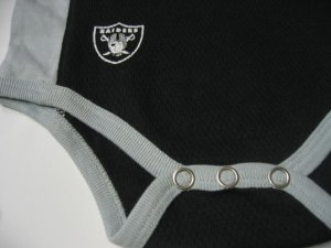 New NFL Oakland Raiders Infant Onesie Baby size 12M FREE SHIPPING!