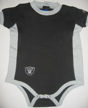 New NFL Oakland Raiders Infant Onesie Baby size 18M FREE SHIPPING!
