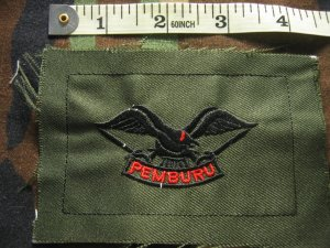 Indonesian Kompi Pemburu / Hunter Company Patch FREE SHIPPING!