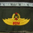 Indonesian Bela Diri Militer (BDM) Military Self Defense Patch FREE SHIPPING!