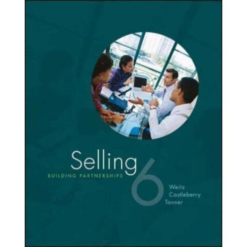 Selling: Building Partnerships 6th edition textbook + ACT! Express CD