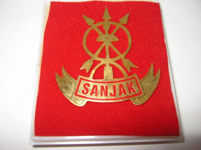Indonesia Military Tracker Sanjak (Mengesan Jejak) Badge FREE SHIPPING!