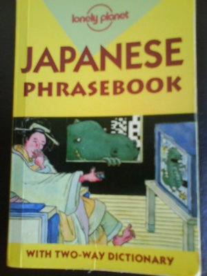 Japanese Phrase Book by Yoshi Abe.Lonely Planet