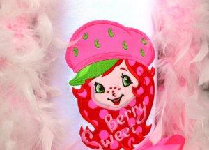 Applique Strawberry Berry T